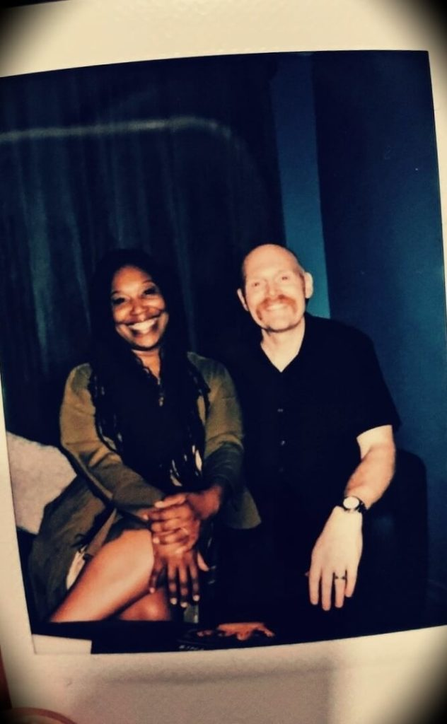 Bill Burr with his wife Nia Renée Hill