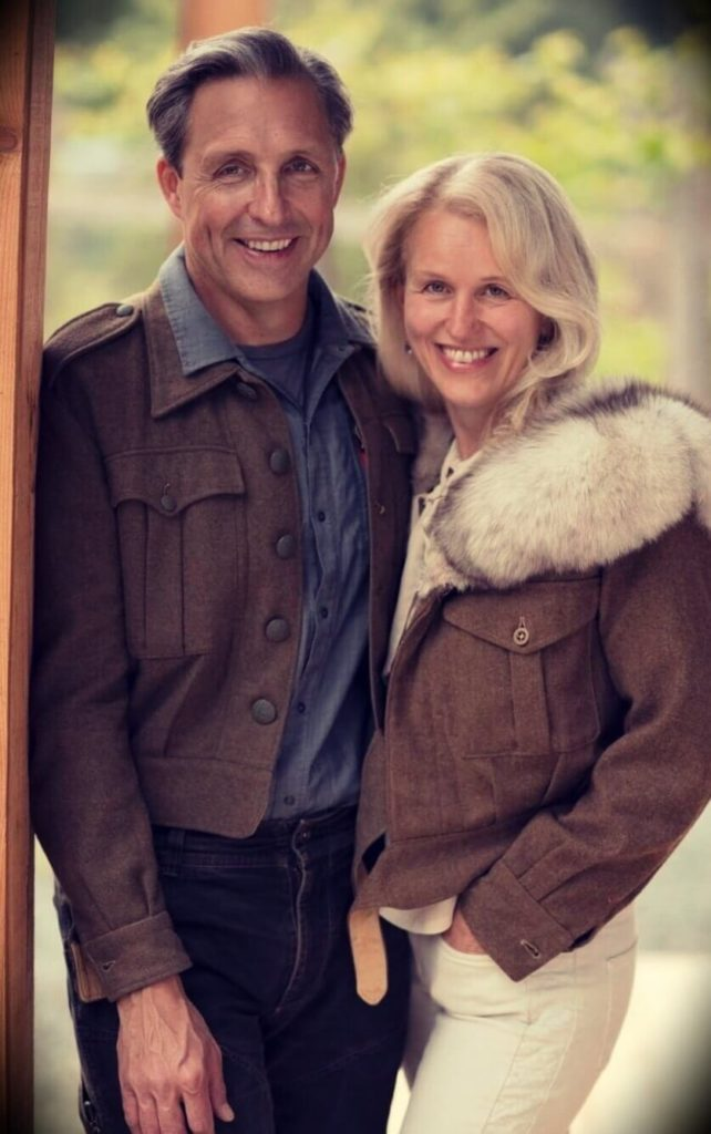 Dave Asprey and his wife Lana Asprey