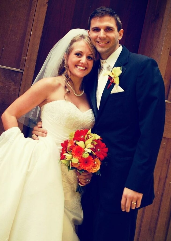 Dr. Danielle Jones with her husband Donnie Ray Jones