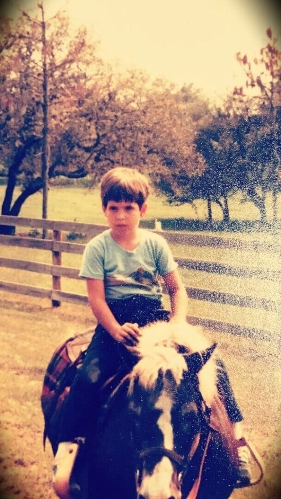 Duncan Trussell at 7 years old