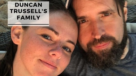 Rare Photos Of Duncan Trussell With His Wife & Son