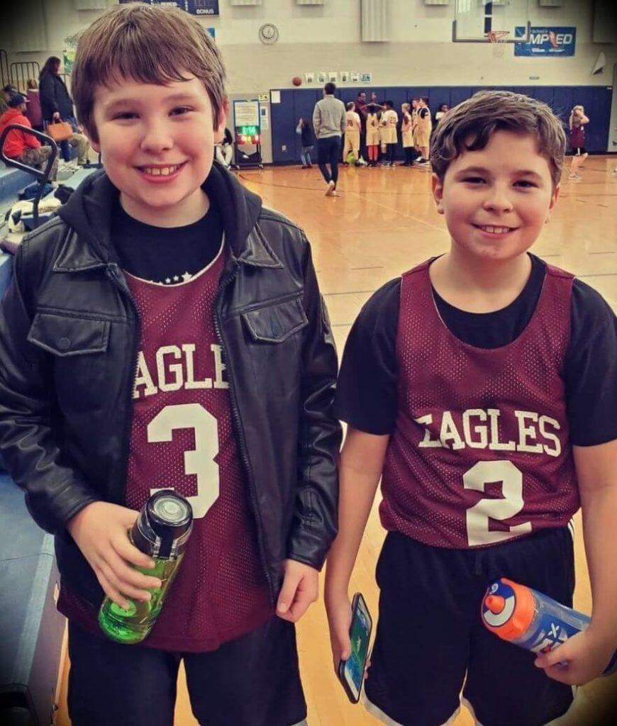 John Meadows' twin sons Jonathan and Alexander