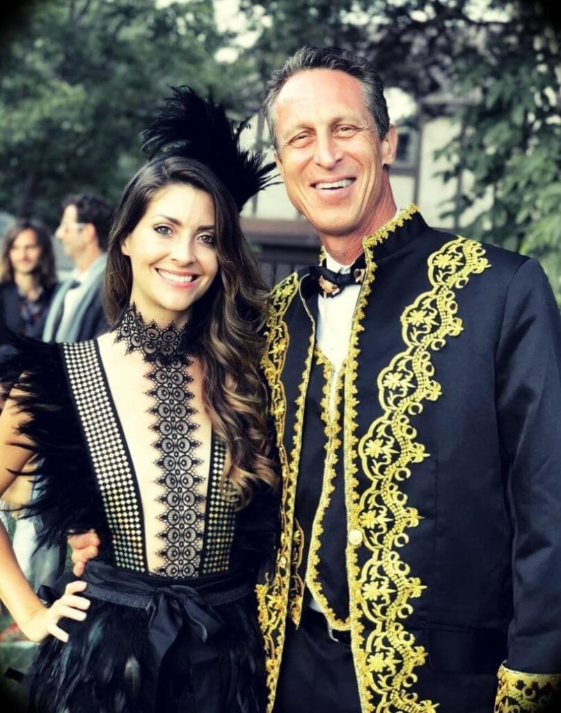 Dr. Mark Hyman with his wife Mia Lux