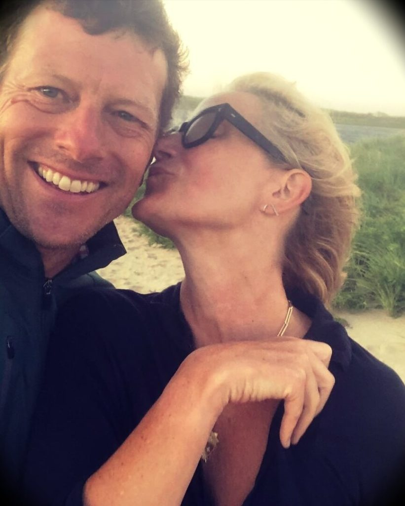 Mel Robbins with her husband Christopher Robbins