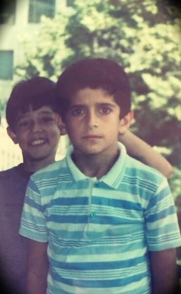 Patrick Bet-David at 9 years old
