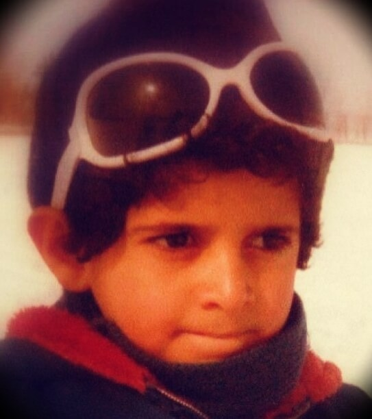 Patrick Bet-David at 6 years old