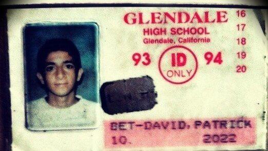 Patrick Bet-David at 15 years old