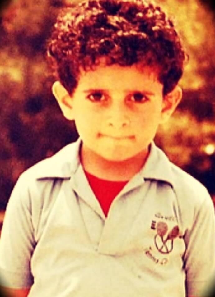 Patrick Bet-David at 4 years old