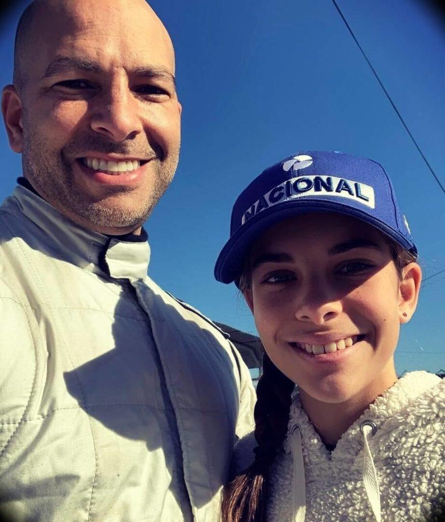 Peter Attia with his oldest daughter Olivia Attia