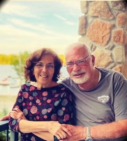 Peter Attia's parents Eid and Sonia
