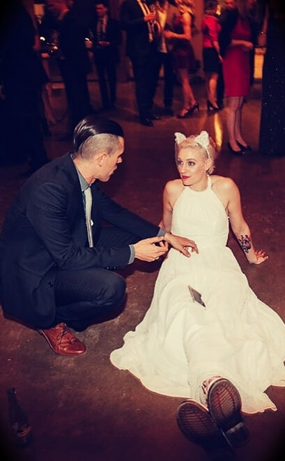 Ryan Holiday with his wife Samantha Holiday