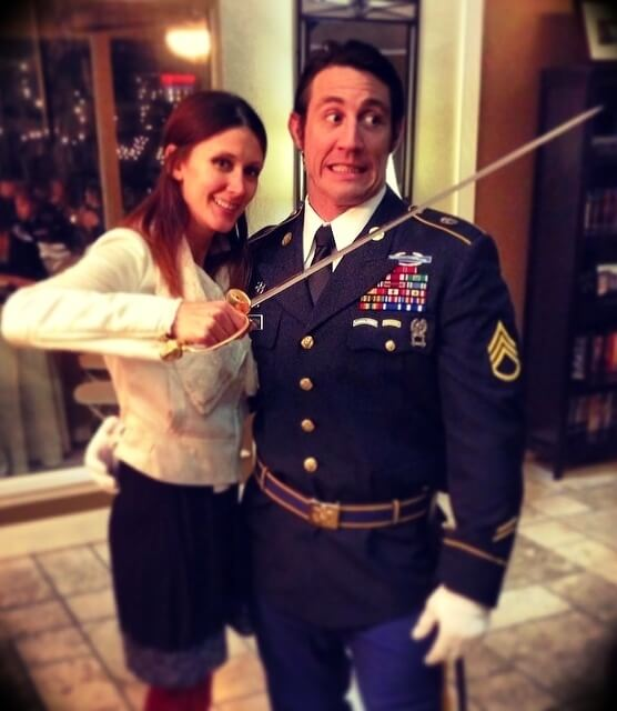 Tim Kennedy with his wife Ginger Kennedy