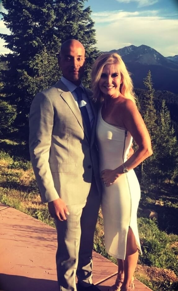 David Goggins with his fiancée