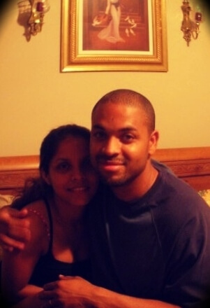 Kevin Hodge with his wife Candy Hodge