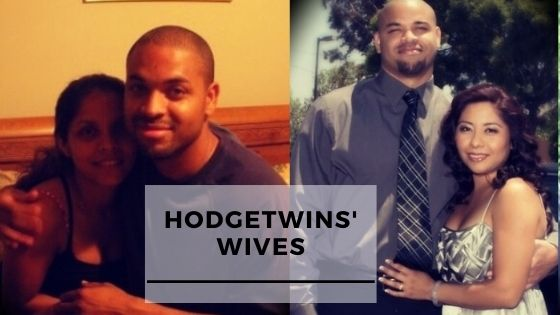 Rare Photos Of The HodgeTwins With Their Wives