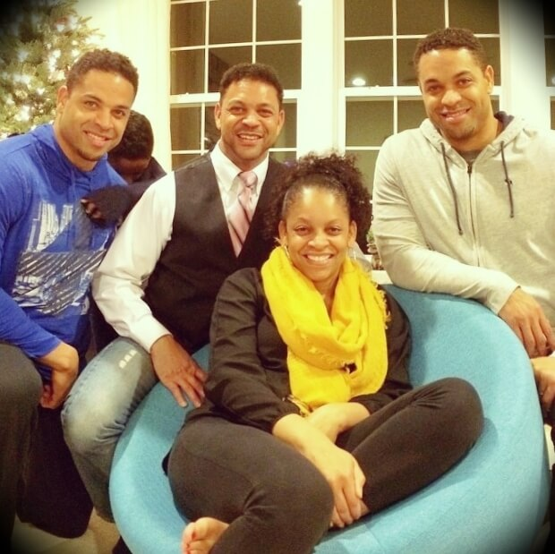 Rare photo of the Hodgetwins with their two siblings, Timmy and Rosalyn Hodge