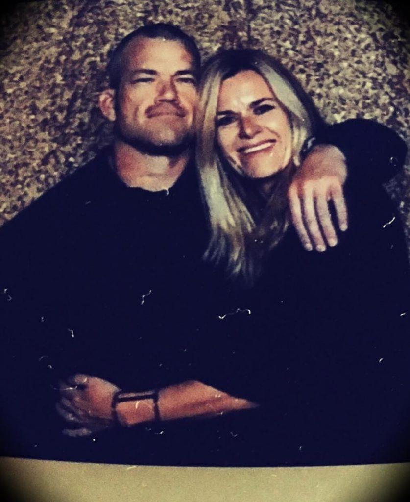 Jocko Willink with his wife Helen Willink