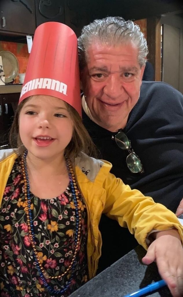 Joey Diaz with his daughter Mercy
