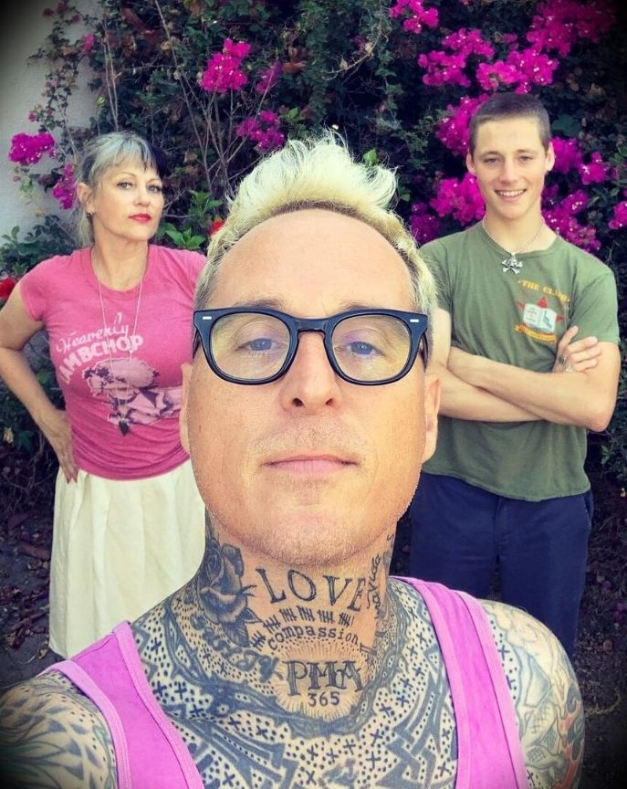 old Toby Morse with his wife Moonie Morse and their son Max
