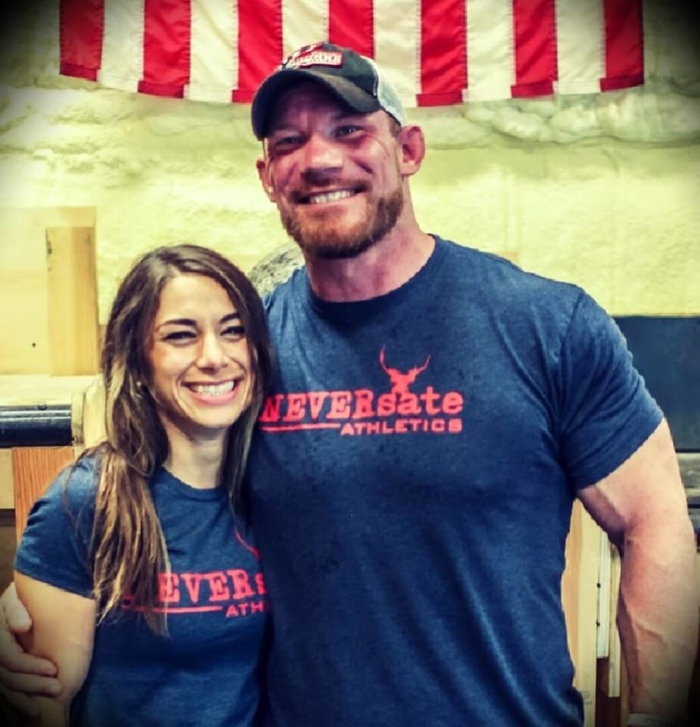 Brian Alsruhe with his wife Alena Alsruhe