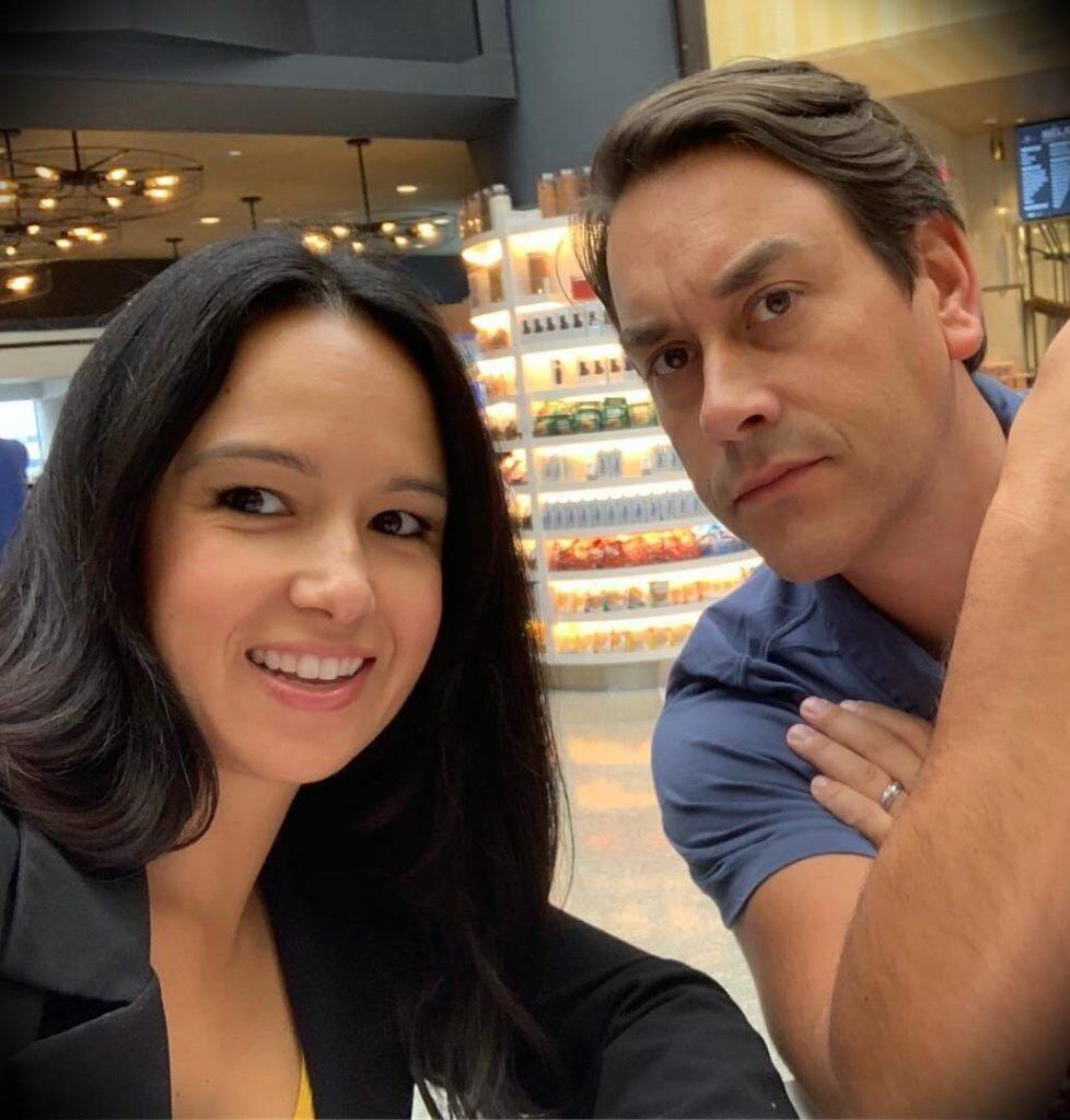 Clayton Morris with his wife Natali Morris