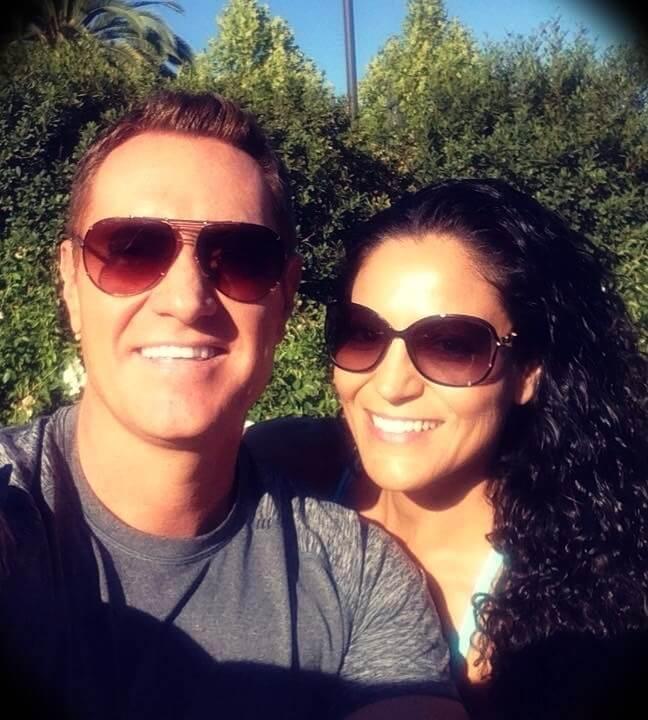 Darren Hardy with his wife Georgia Hardy