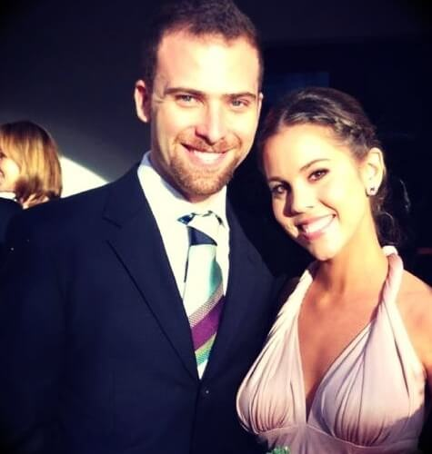 David Hoffmann aka Davidsbeenhere with his wife Ana Lambrakopoulos