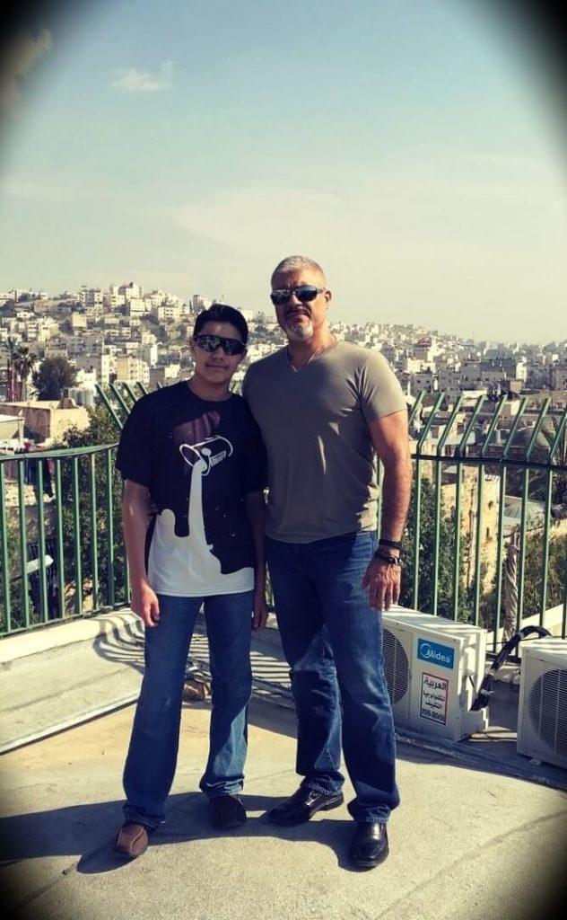 Dr. Rashid Buttar with his son Rahan Buttar