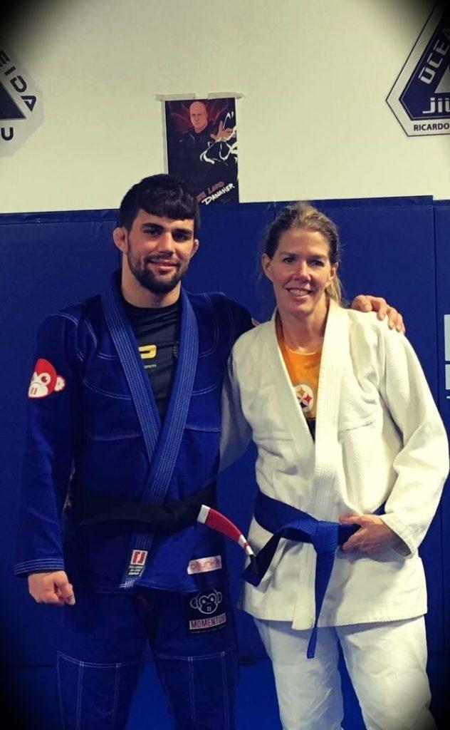 Garry Tonon's mother is a Brazilian Jiu Jitsu enthusiast