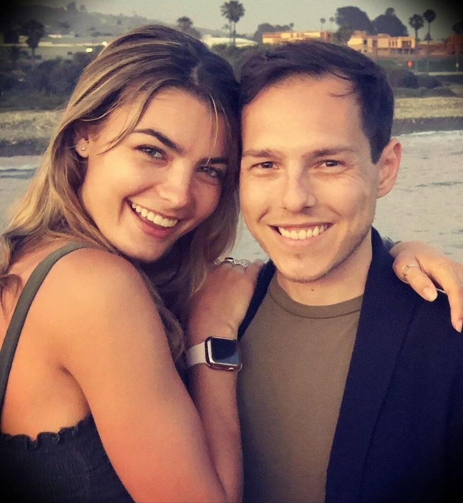 Graham Stephan with his girlfriend Savannah Smiles
