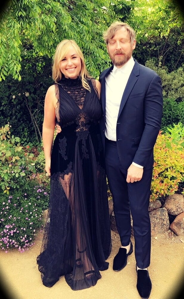 Hillary Kerr with her husband Jonathan Leahy