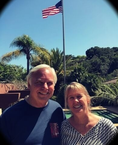 Jack Canfield with his wife Inga Marie Mahoney