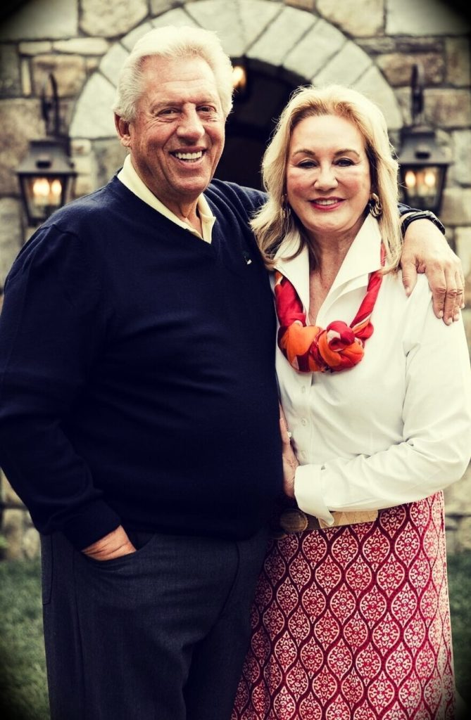 John C. Maxwell and Margaret Maxwell celebrating their 50th anniversary