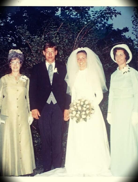John C. Maxwell and Margaret Maxwell's wedding
