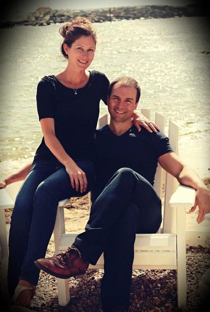John Lee Dumas with his Wife Kate Erickson