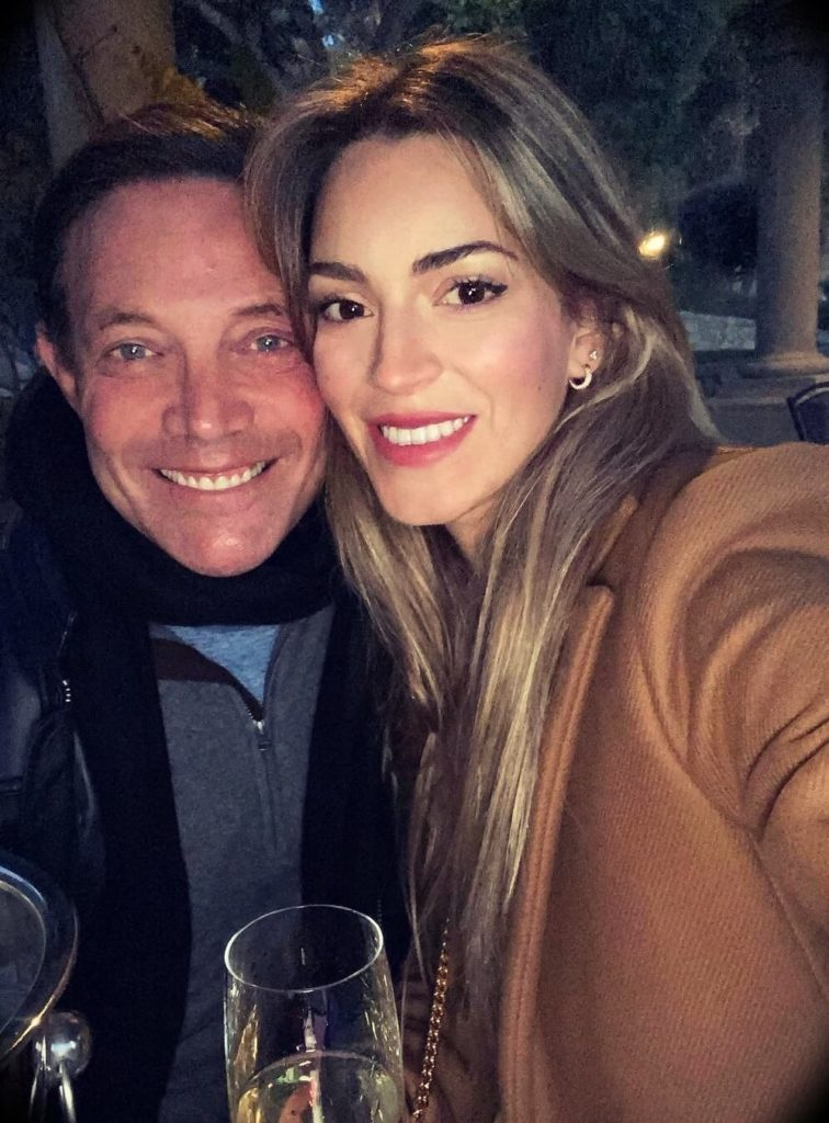 Jordan Belfort with his girlfriend Cristina Invernizzi