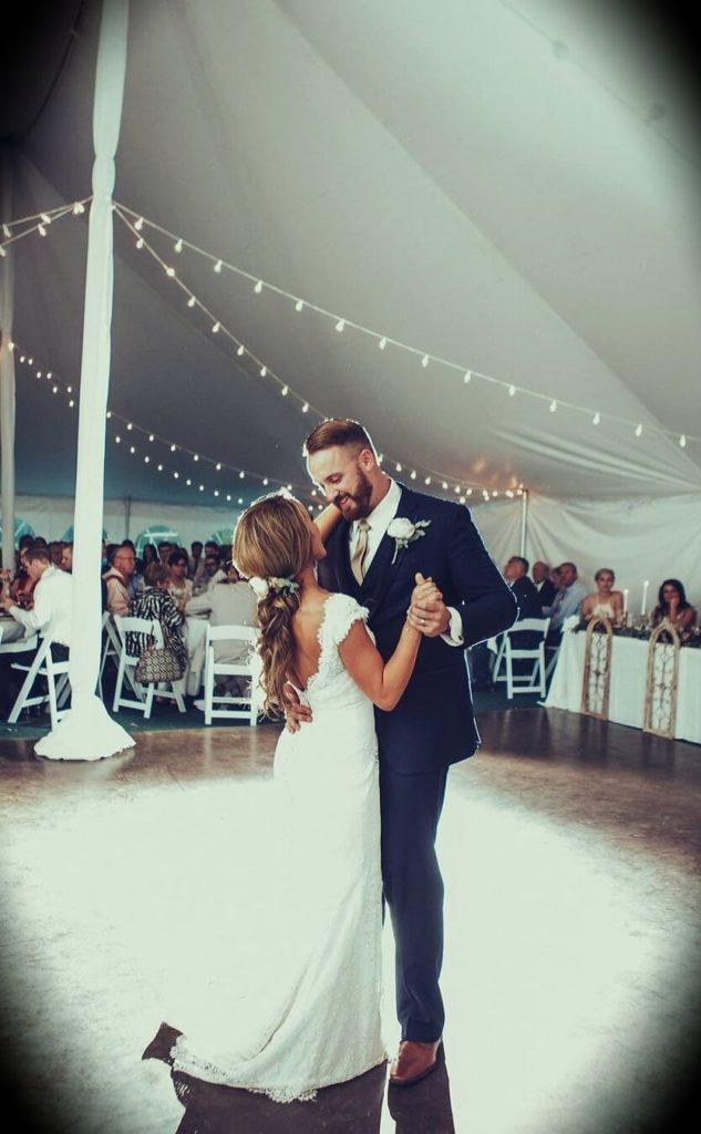 Jordan Lee Dooley with her husband Matt Dooley