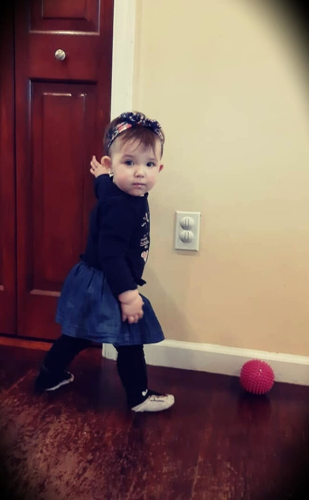 Luke Thomas's daughter