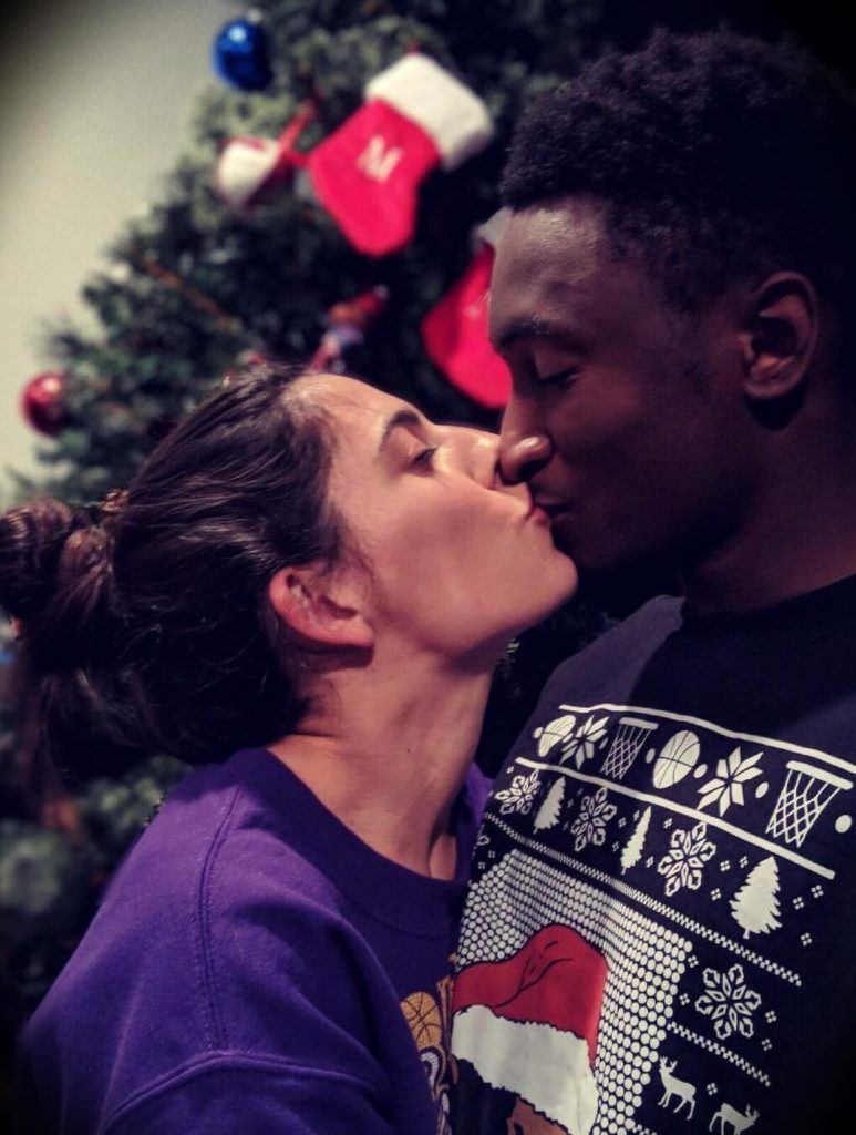 Marques Brownlee with his girlfriend