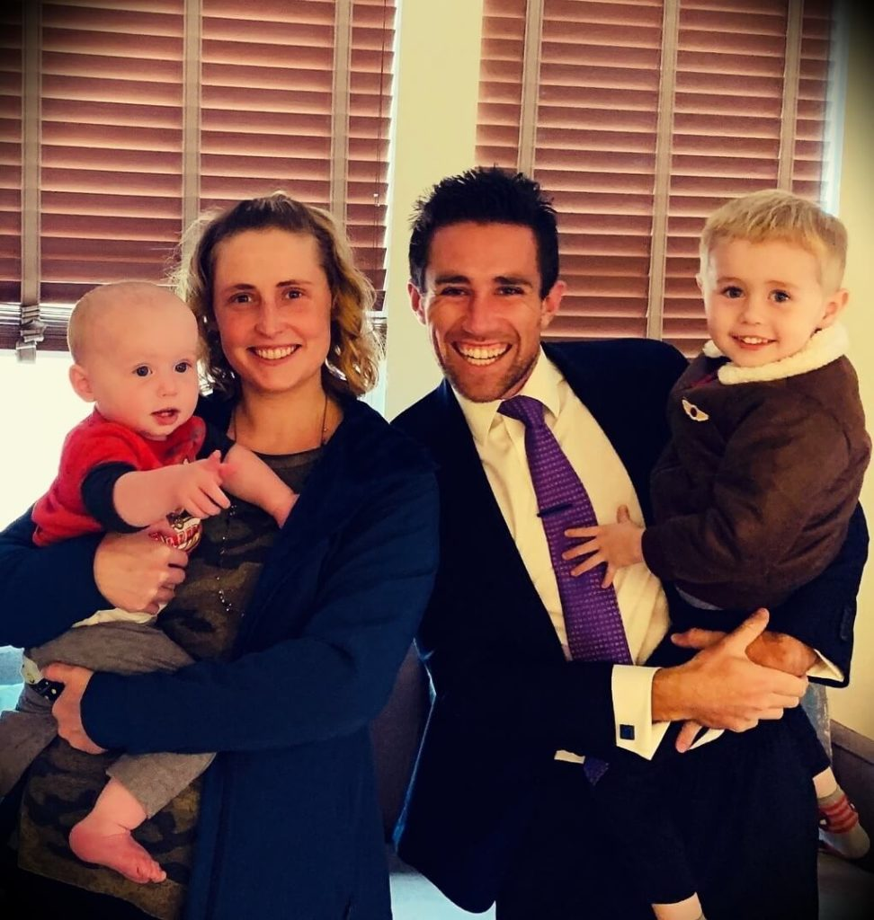Meet Kevin with his wife Lauren Paffrath and their two sons