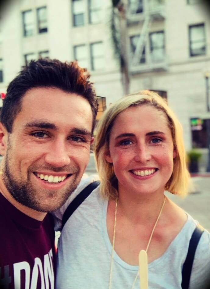 Meet Kevin with his wife Lauren Paffrath