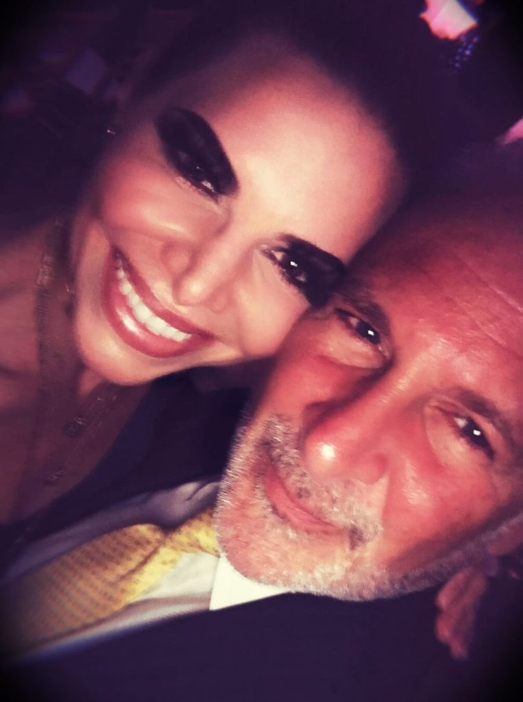 Peter Schiff with his wife Lauren Schiff