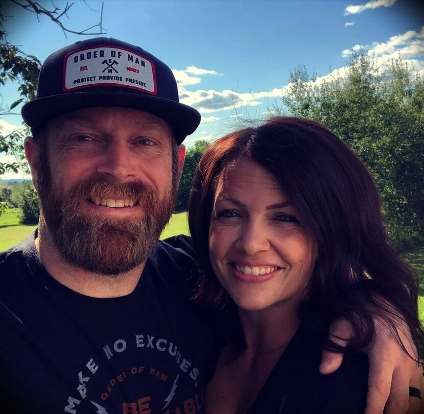 Ryan Michler with his wife