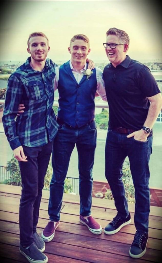 Tom Ferry his sons Steven and Michael