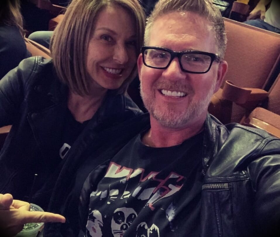 Tom Ferry with his wife Kathy Ferry