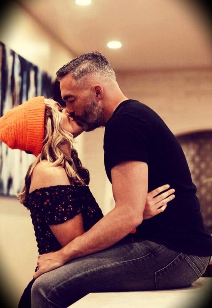 Angie Lee with her boyfriend Clay Hebert