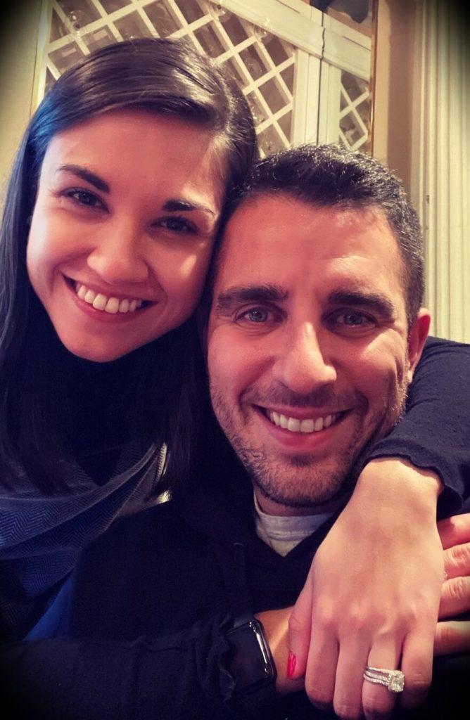 Anthony Pompliano with his wife Polina Marinova Pompliano