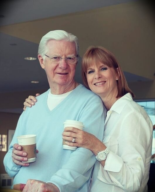 Bob Proctor with his daughter Colleen Proctor