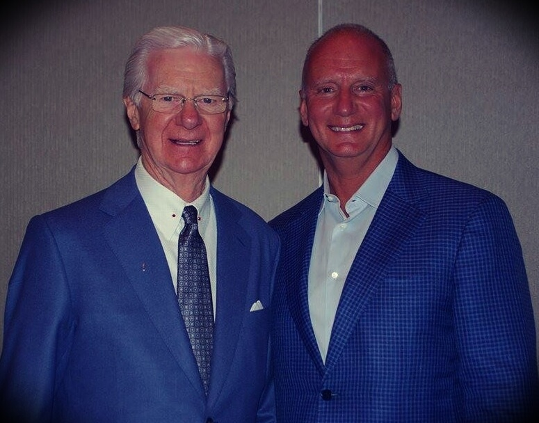 Bob Proctor with his son Brian Proctor