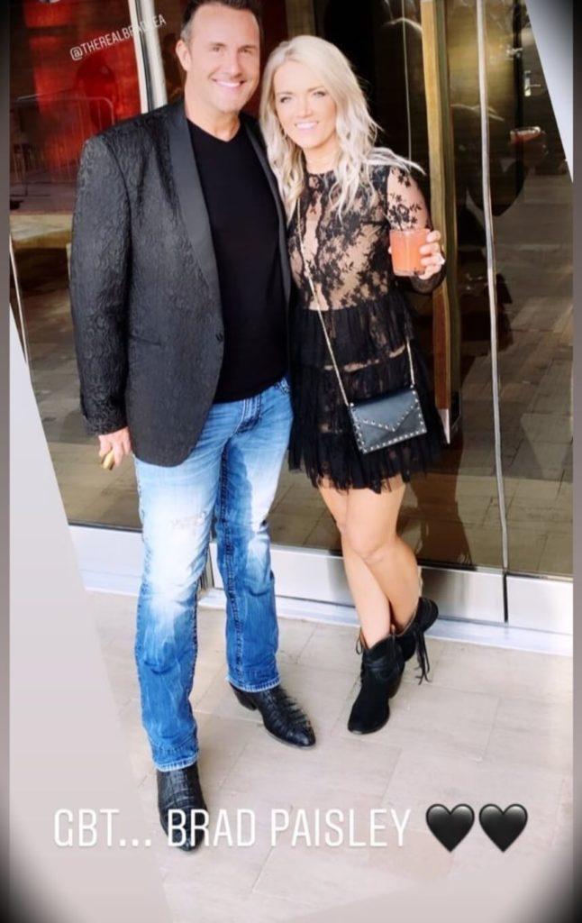 Brad Lea with his wife Melissa Renee Lea